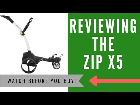 ✅ MGI Zip X5 Motorised Golf Buggy Review - An HONEST Opinion