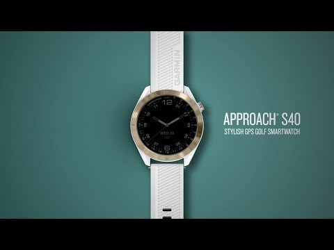 Garmin Approach S40: Look Great on and off the Course