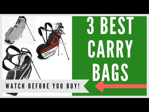 ✅ Best Golf Carry Bags For The Money – Top 3 Stand Bags