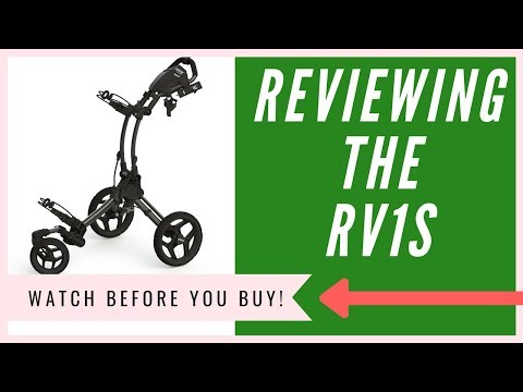 Clicgear Rovic RV1S Push Cart Review | The TRUTH Revealed