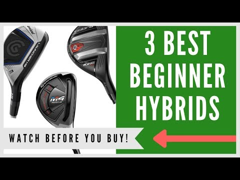 ✅ Best Hybrid Clubs For Beginners – Top 3 Rescue Clubs
