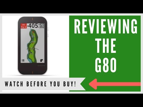 ✅ GARMIN APPROACH G80 GPS WITH LAUNCH MONITOR: AN HONEST REVIEW