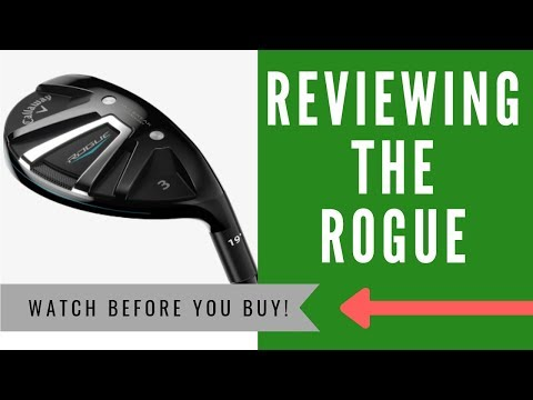 ✅ CALLAWAY ROGUE RESCUE HYBRID REVIEW