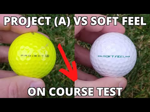 ✅ Best Ball For The AVERAGE PLAYER? Srixon Soft Feel vs Taylormade Project (a)