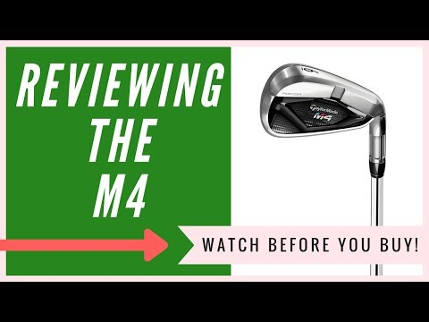 Taylormade M4 Irons: An HONEST Review