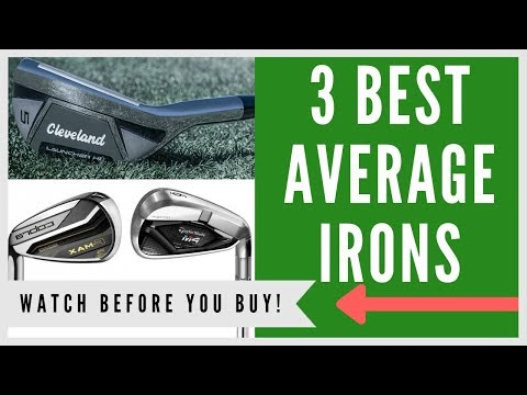 ✅ BEST IRONS FOR THE AVERAGE GOLFER - My Top 3 Picks