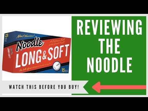 ✅ NOODLE LONG AND SOFT GOLF BALL REVIEW