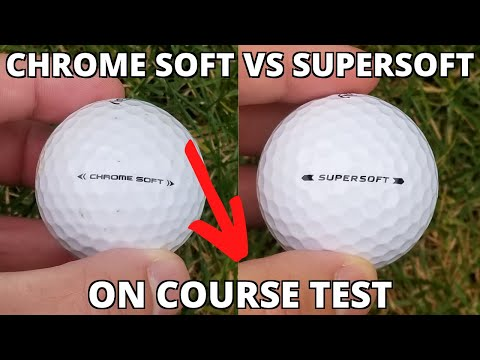 ✅ CALLAWAY CHROME SOFT vs SUPERSOFT (Tested By An Average Golfer)