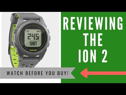 ✅ Bushnell Neo Ion 2 Golf GPS Watch Review