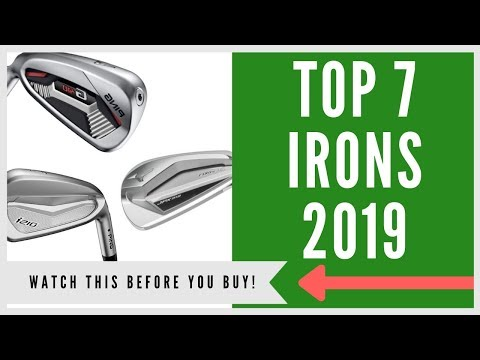 ✅ TOP 7 BEST GOLF IRONS (PLAYERS & GAMERS)