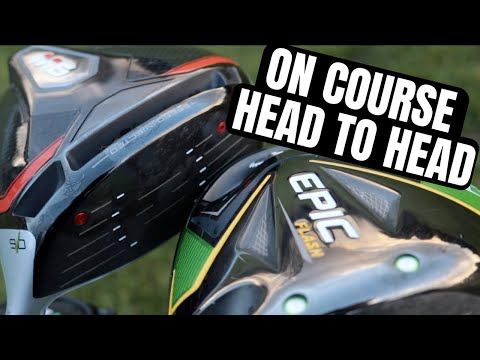 Taylormade M6 vs Callaway Epic Flash... Shot Tracer On Course Test