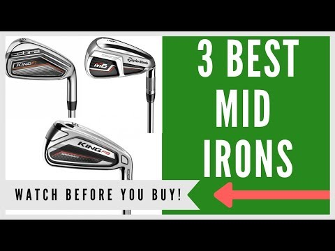 ✅ Best Irons For Mid Handicappers – My Top 3 Picks