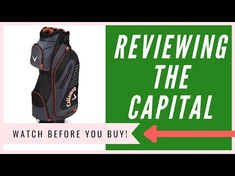 Callaway Capital Stand Bag Review   An HONEST Opinion