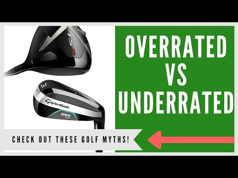 ✅21 MOST OVERRATED & UNDERRATED EQUIPMENT IN GOLF