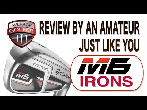TaylorMade M6 irons tested by The Average Golfer