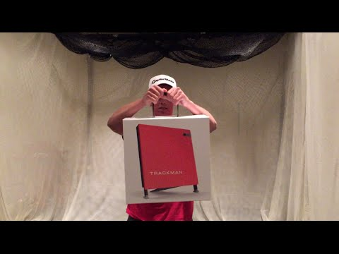 TRACKMAN 4 UNBOXING AND SETUP
