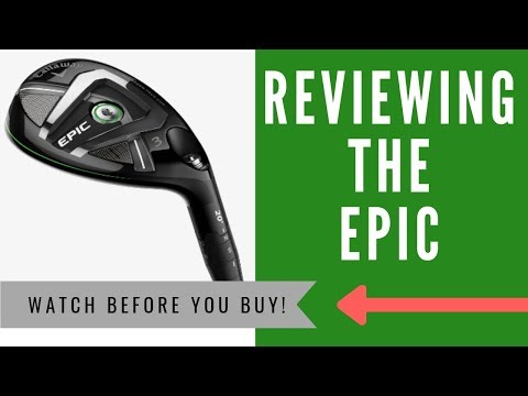 ✅ CALLAWAY EPIC RESCUE HYBRID: An HONEST Review