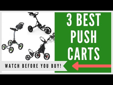 ✅ Best Push Carts For Golf – Top 3