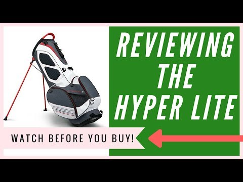 Callaway Hyper Lite 3 Stand Bag Review | The TRUTH Revealed
