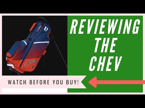 Callaway Chev Stand Bag Review - An HONEST Opinion