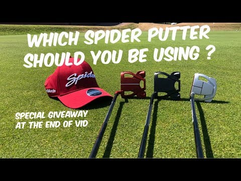 Which Taylor Made Spider Putter should YOU be using?