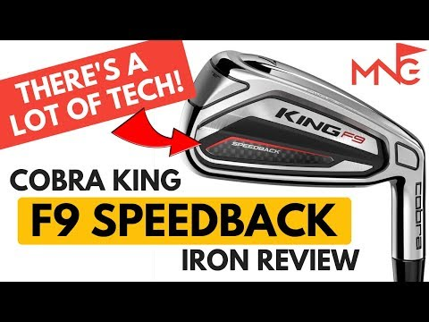 Cobra King F9 SpeedBack Iron Review - This Iron Is Full Of Tech!!!