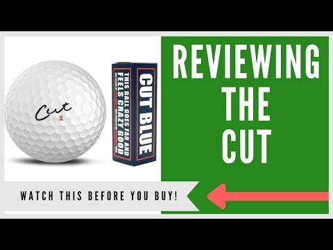 ✅ CUT GOLF BALL REVIEW: Think Twice Before Buying?
