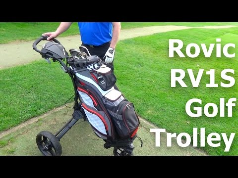 Rovic By Clicgear RV1S Swivel Golf Trolley First Look and First Look