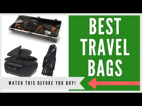 ✅ TOP 7 BEST TRAVEL BAGS FOR YOUR GOLF CLUBS