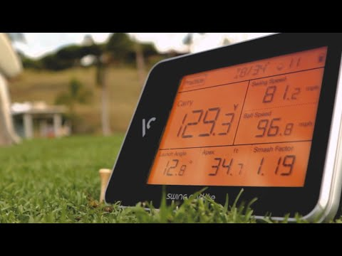 SC300 Portable Launch Monitor By Voice Caddie