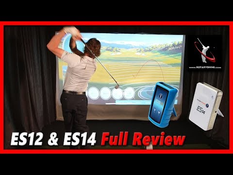 ES12 & ES14 Launch Monitor Review and Side by Side Comparison