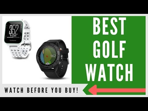 ✅ TOP 3 BEST GOLF GPS WATCHES TO BUY (BUYERS GUIDE)