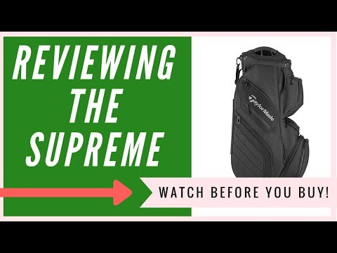 Taylormade Supreme Cart Bag Review | An HONEST Review