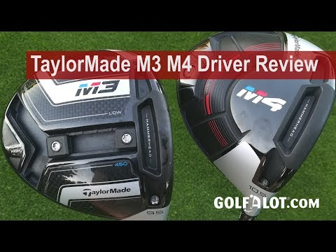 TaylorMade M3 M4 Driver Review By Golfalot